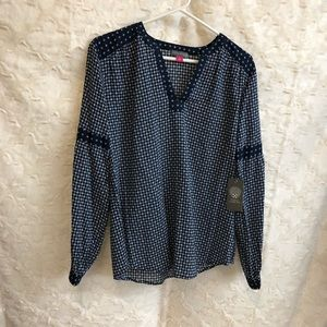 NWT Vince Camuto Boho Chic Womens Top Small